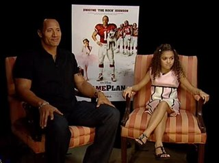 "Dwayne ""The Rock"" Johnson & Madison Pettis (The Game Plan)- Interview Video Thumbnail"