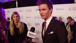 Eddie Redmayne - Fantastic Beasts and Where to Find Them Red Carpet Interview Video Thumbnail