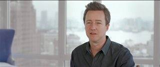 Edward Norton Interview - Collateral Beauty Video Thumbnail