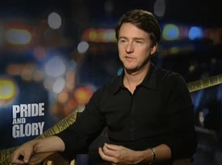 Edward Norton (Pride and Glory) - Interview Video Thumbnail