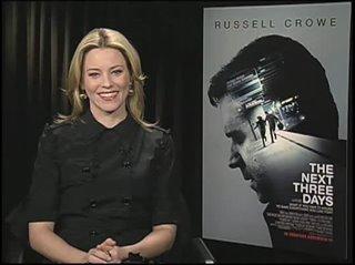 Elizabeth Banks (The Next Three Days)- Interview Video Thumbnail