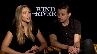 Elizabeth Olsen & Jeremy Renner Interview - Wind River Video Thumbnail