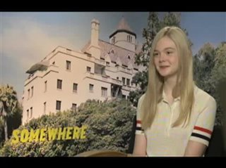 Elle Fanning (Somewhere)- Interview Video Thumbnail