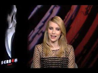 Emma Roberts (Scream 4)- Interview Video Thumbnail