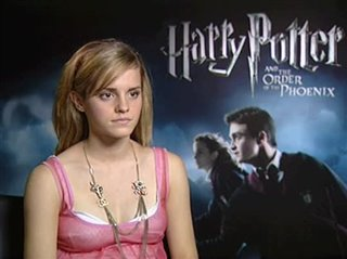 Emma Watson (Harry Potter and the Order of the Phoenix)- Interview Video Thumbnail