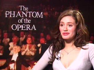 EMMY ROSSUM - THE PHANTOM OF THE OPERA- Interview Video Thumbnail