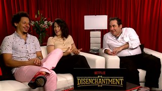 eric-andre-abbi-jacobson-josh-weinstein-talk-disenchantment Video Thumbnail