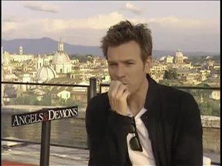 Ewan McGregor (Angels & Demons)- Interview Video Thumbnail