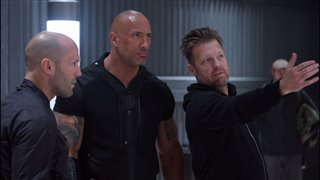 "'Fast & Furious Presents: Hobbs & Shaw' Featurette - ""In David Leitch We Trust"" Video Thumbnail"