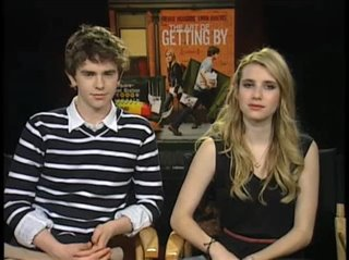 Freddie Highmore & Emma Roberts (The Art of Getting By)- Interview Video Thumbnail