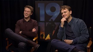 george-mackay-dean-charles-chapman-talk-1917 Video Thumbnail