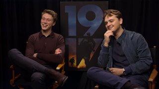 George MacKay & Dean-Charles Chapman talk '1917'- Interview Video Thumbnail