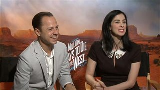 Giovanni Ribisi & Sarah Silverman (A Million Ways to Die in the West) - Interview Video Thumbnail