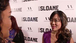 Grace Lynn Kung - Miss Sloane Red Carpet Interview Video Thumbnail