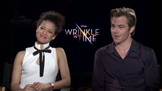 gugu-mbatha-raw-chris-pine-interview-a-wrinkle-in-time Video Thumbnail