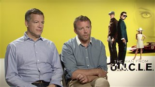 Guy Ritchie & Lionel Wigram - The Man from U.N.C.L.E. - Interview Video Thumbnail