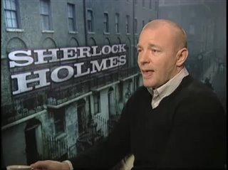 Guy Ritchie (Sherlock Holmes) - Interview Video Thumbnail