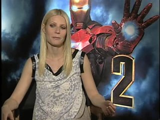 Gwyneth Paltrow. (Iron Man 2)- Interview