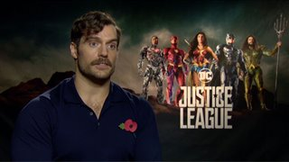 Henry Cavill Interview - Justice League Video Thumbnail