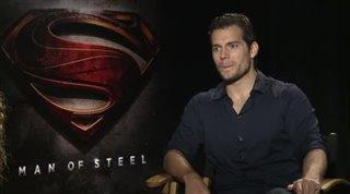 Henry Cavill (Man of Steel)- Interview Video Thumbnail