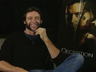 Hugh Jackman (Deception) - Interview Video Thumbnail