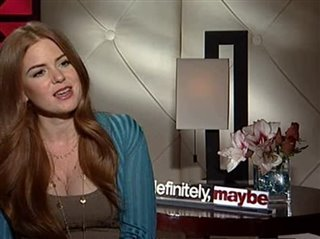 Isla Fisher (Definitely, Maybe)- Interview Video Thumbnail