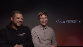 Jacob Anderson & Joe Dempsie talk 'Game of Thrones'- Interview Video Thumbnail