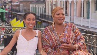 Jada Pinkett Smith & Queen Latifah Interview - Girls Trip Video Thumbnail