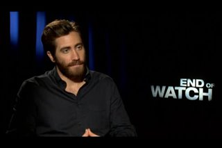 Jake Gyllenhaal (End of Watch)- Interview Video Thumbnail
