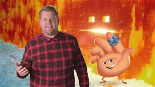 james-corden-interview-the-emoji-movie Video Thumbnail