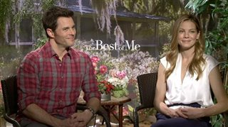 James Marsden & Michelle Monaghan (The Best of Me)- Interview Video Thumbnail
