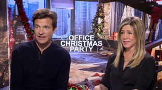 jason-bateman-jennifer-aniston-interview-office-christmas-party Video Thumbnail
