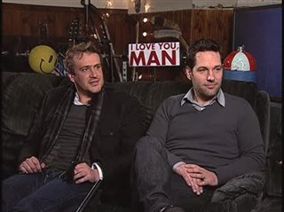 Jason Segel & Paul Rudd (I Love You, Man) - Interview Video Thumbnail