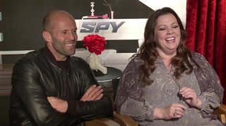 Jason Statham & Melissa McCarthy (Spy)- Interview Video Thumbnail