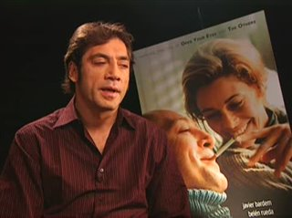 JAVIER BARDEM - THE SEA INSIDE- Interview Video Thumbnail