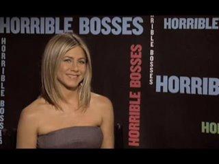 Jennifer Aniston (Horrible Bosses) - Interview Video Thumbnail