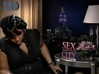 Jennifer Hudson (Sex and the City)- Interview Video Thumbnail