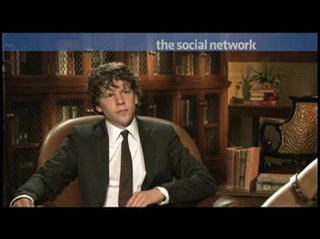 Jesse Eisenberg (The Social Network) - Interview Video Thumbnail