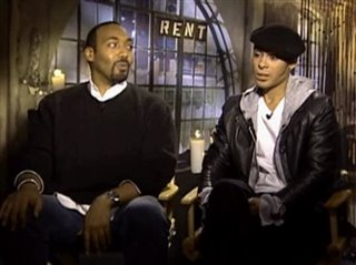 JESSE MARTIN & WILSON JERMAINE HEREDIA - RENT - Interview Video Thumbnail