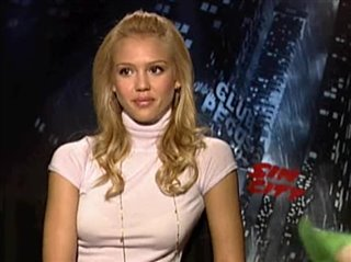JESSICA ALBA - SIN CITY- Interview Video Thumbnail