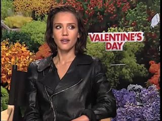 Jessica Alba (Valentine's Day)- Interview Video Thumbnail