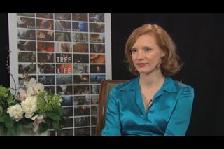 Jessica Chastain (The Tree of Life) - Interview Video Thumbnail