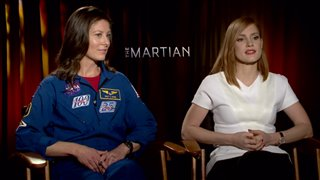 jessica-chastain-tracy-caldwell-dyson-the-martian Video Thumbnail