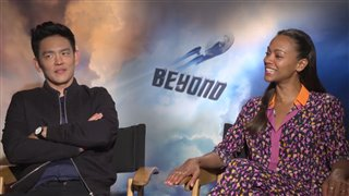 john-cho-zoe-saldana-interview-star-trek-beyond Video Thumbnail