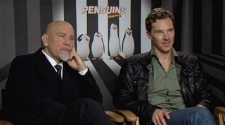 John Malkovich & Benedict Cumberbatch (Penguins of Madagascar)- Interview Video Thumbnail