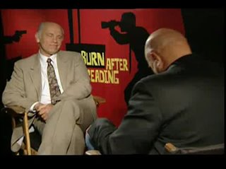 John Malkovich (Burn After Reading)- Interview Video Thumbnail