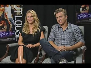 Julianne Hough & Kenny Wormald (Footloose) - Interview Video Thumbnail