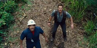 "Jurassic World movie clip - ""Owen escapes the Indominus Rex paddock"" Video Thumbnail"