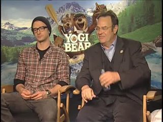 Justin Timberlake & Dan Aykroyd (Yogi Bear) - Interview Video Thumbnail
