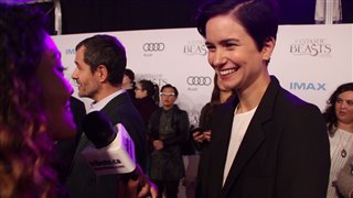 Katherine Waterston - Fantastic Beasts and Where to Find Them Red Carpet Interview Video Thumbnail